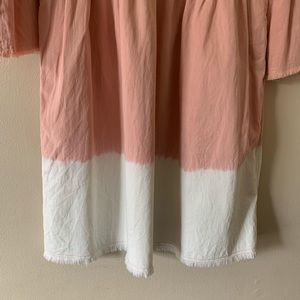 Anthropologie Dresses - Ombré Holding Horses Lilibet pink and white dress